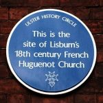 huguenot church plaque