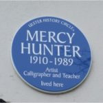 hunter plaque