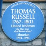 russell plaque