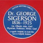 sigerson plaque